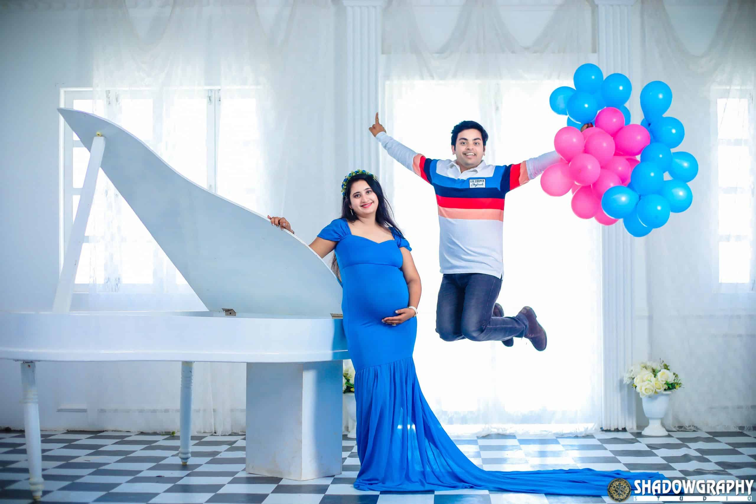 MATERNITY Shadowgraphy Studio maternity shoot in indore
